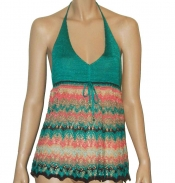 CROCHELLE Multicolored Knitted Top
