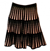 CROCHELLE Carousel Midi Skirt
