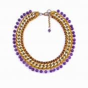 LAMPRINI Necklace Dionysus Grapes