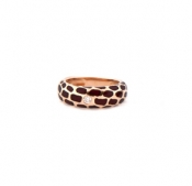 FACHIDIS Rose Gold Ring With Diamonds 18k