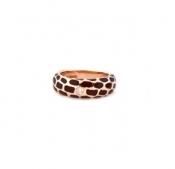 FACHIDIS Rose Gold Ring With Diamonds 18k