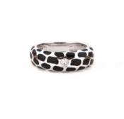 FACHIDIS White Gold Ring With Diamonds 18k