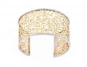 FACHIDIS Yellow Gold Bracelet With Diamonds