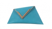 GEORGINA SKALIDI Eave 15b Blue Asymmetric Clucth