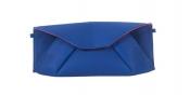GEORGINA SKALIDI Eave 18b Blue Origami Clucth