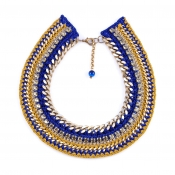 LAMPRINI Necklace Midnight Blue