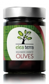 ELEA TERRA Kalamon Variety Olives Unpitted