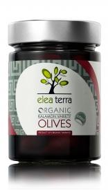 ELEA TERRA Organic Kalamon Variety Olives Pitted