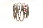 TONIA MAKRI Bracelet With Rubies