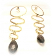TONIA MAKRI Earrings With Smoky Quartz