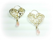 TONIA MAKRI Earrings With Rose Quartz 2