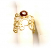 TONIA MAKRI Ring With Garnet