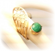 TONIA MAKRI Ring With Malachite