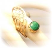 TONIA MAKRI Ring With Malachite