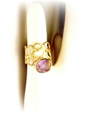 TONIA MAKRI Ring With Amethyst